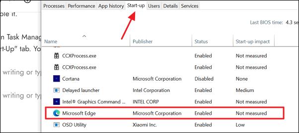 如何阻止Microsoft Edge在启动时打开