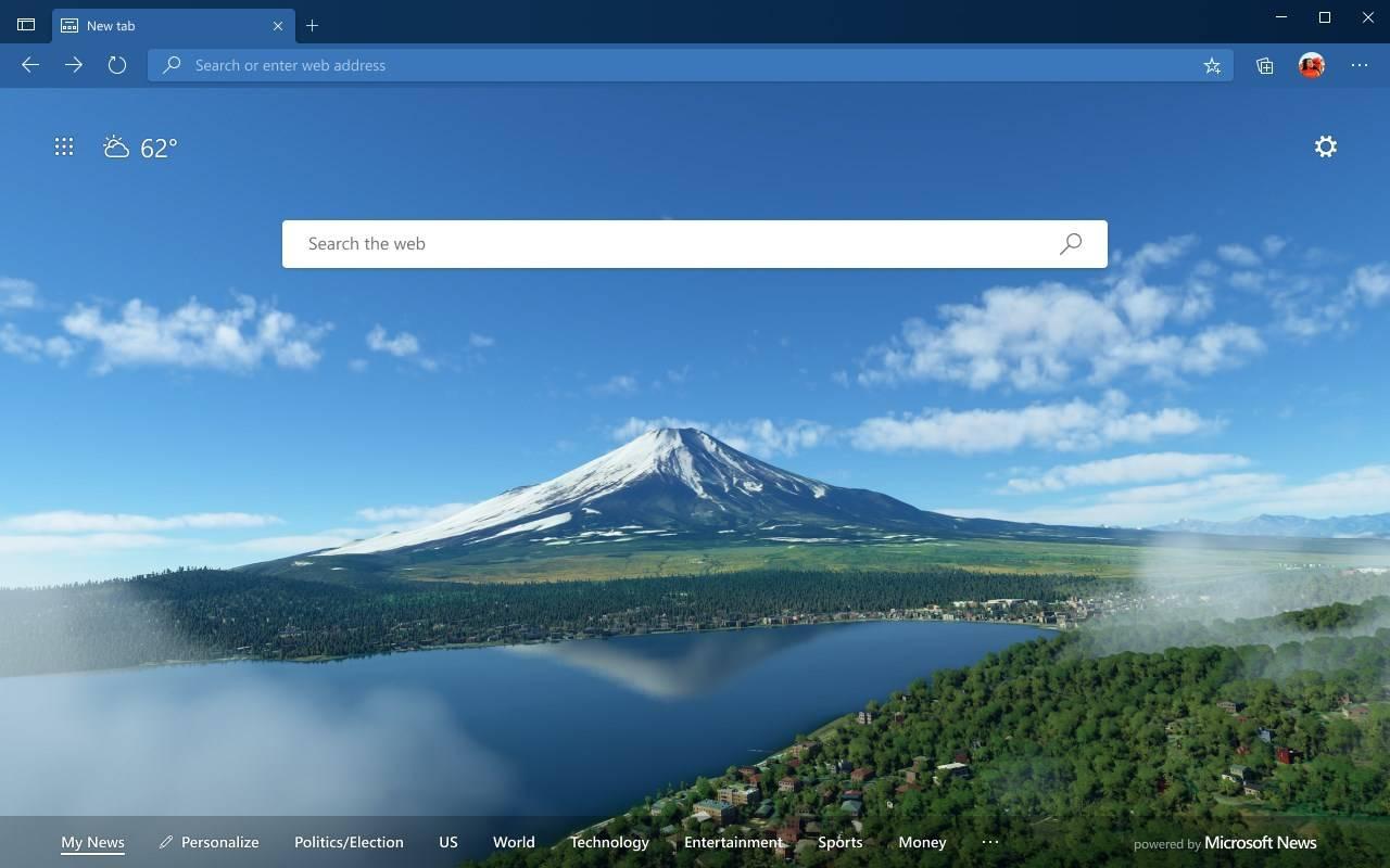 Edge主题【Microsoft Flight Simulator – Mt. Fuji】下载