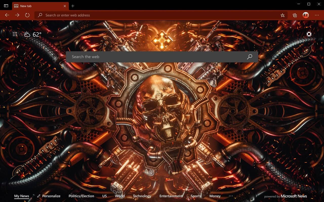 Edge主题【Steampunk Omen】下载